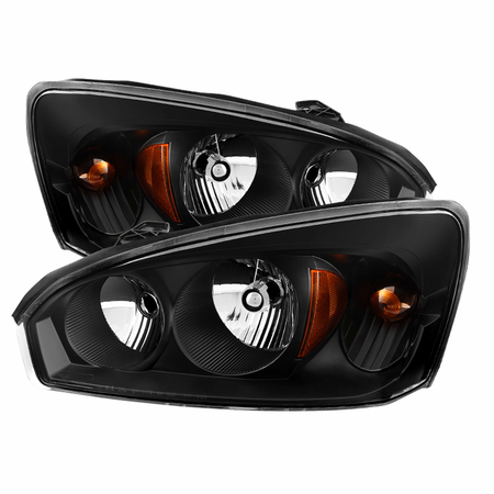 Xtune Chevy Malibu 04-08 Crystal Headlights - Black