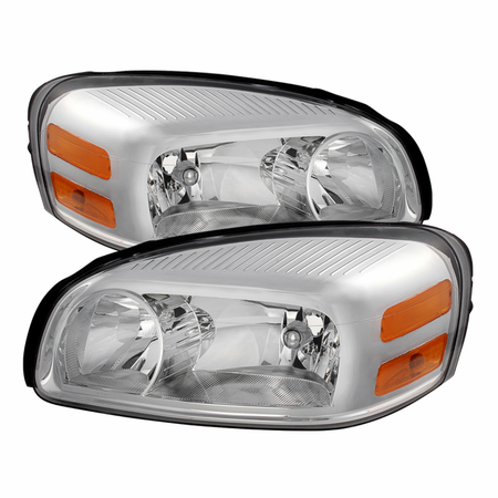 Xtune Chevy Uplander 05-09/Pontiac Montana SV6 05-09/Buick Terraza 05-07/Saturn Relay Headlights -Chrome