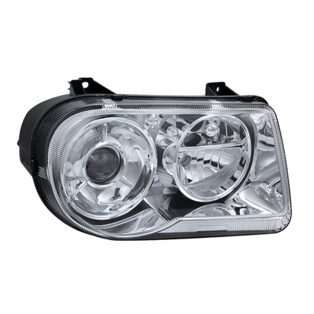 Xtune Chrysler 300C with Halogen Projection Style only 05-10 (Does Not Fit 300 or SRT-8 Models that use either Non Projection Halogen or HID Xenon Version) Headlights - Right