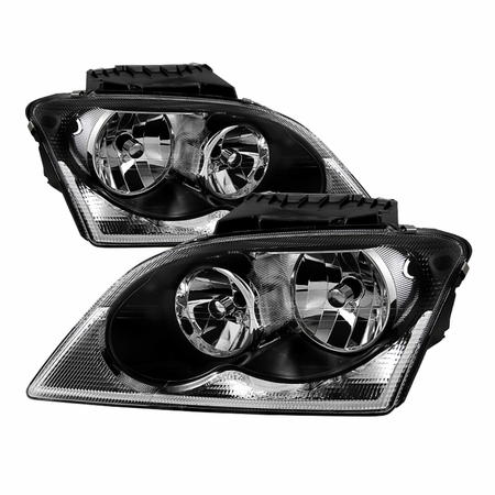 Xtune Chrysler Pacifica 04-06 Halogen OEM Style headlights - Black