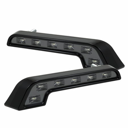Xtune DRL L-Shape Mb Style 0.5W LED Lights - Black