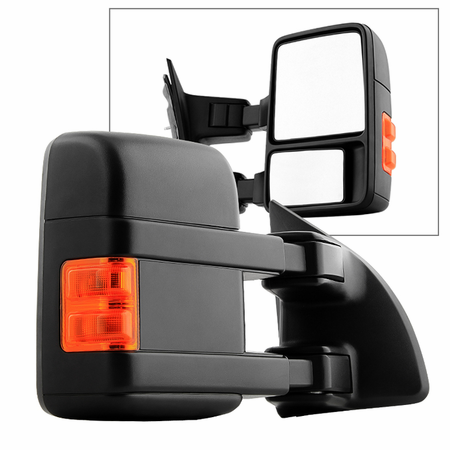 xtune ford superduty 99 14 manual extendable manual adjust mirror rh sparktecmotorsports com Signal Mirror Kit Signal Mirrors Survival