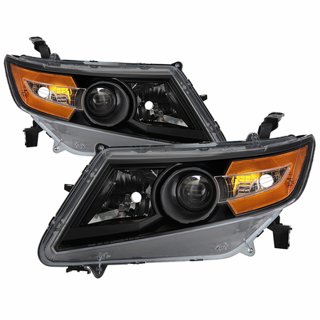 Xtune Honda Odyssey Halogen Models Only 11-15 ( Don't Fit HID models ) OEM Style Headlights - Black