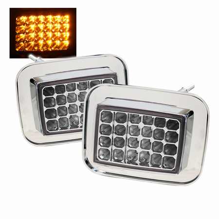 Xtune Hummer H2 Corner Lights - Clear