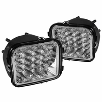 Xtune Hummer H3 06-08 LED Corner Lights - Clear