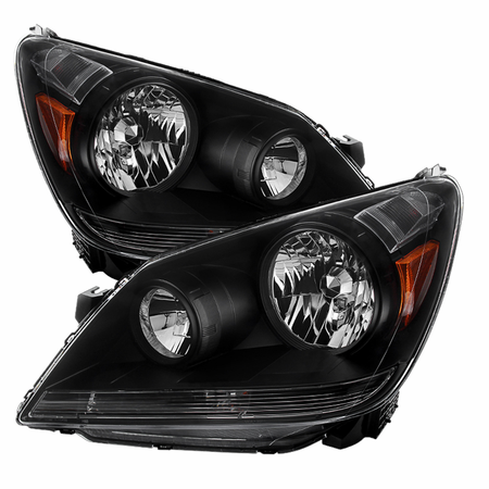 XtuneHonda Odyssey 05-07 Crystal Headlights - Black