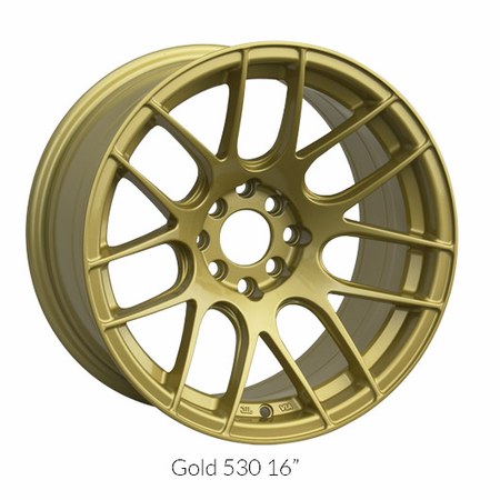 XXR Wheel Rim 530 16X8.25 4x100/4x114.3 ET0 73.1CB Gold