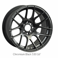 XXR Wheel Rim 530 15X8 4x100/4x114.3 ET20 73.1CB Chromium Black
