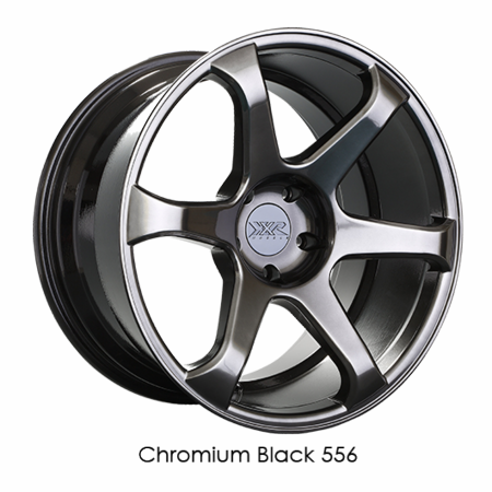 XXR Wheel Rim 556 18x8 5x114.3 ET42 73.1CB Chromium Black