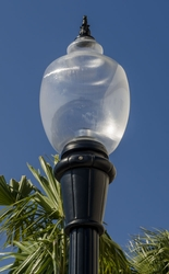 Affordable Decorative Municipal Quality Fixture Globe (for replacement use only)