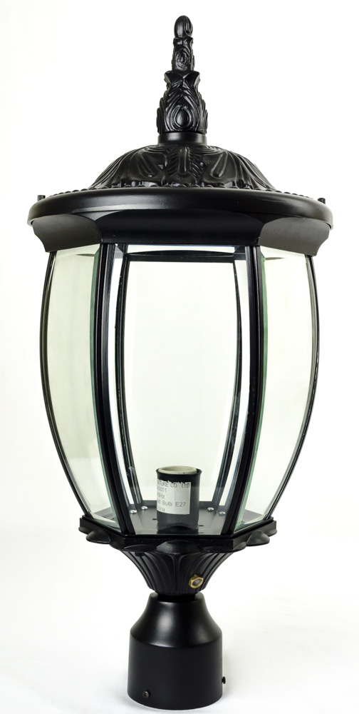Residential grade courtyard outdoor post light package for Outdoor lighting packages
