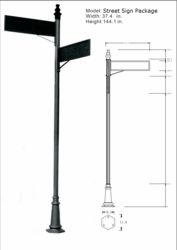 Decorative Street Sign Package