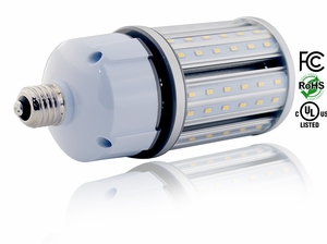 27W LED Corn Lamp - HID Replacement Equivalent to 100W HPS/HID/MH or CFL