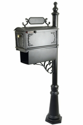 Curbside Mailbox with Paper Holder Package - MB500P