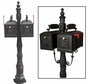 Double Barcelona Style Mailbox Package - MB600