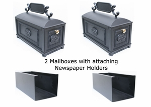 Replacement MB600P Mailbox (Includes 2 Boxes)