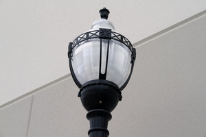 Premium Decorative Municipal Quality Street Light Fixture - High Pressure Sodium