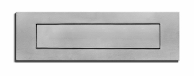 Stainless Steel Mail Slot (front only)
