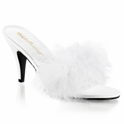 Pleaser Amour -03 Classic Marabou Slipper