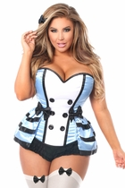 Daisy LV-1003 4 PC Flirty Alice Corset Costume