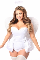 Daisy LV-425 4 PC Angelic Corset Costume