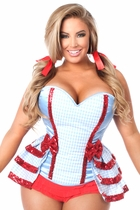 Daisy LV-441 3 PC Kansas Girl Corset Costume