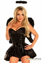 Daisy TD-101 Top Drawer 4 PC Dark Angel Costume