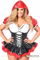 Daisy TD-916 Top Drawer Premium Red Riding Hood Corset Dress Costume