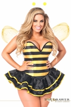 Daisy TD-924 Top Drawer Premium Queen Bee Corset Costume