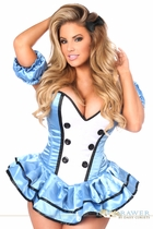 Daisy TD-936 Top Drawer Premium Alice Corset Dress Costume