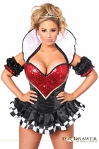 Daisy TD-943 Top Drawer Royal Queen Premium Corset Costume