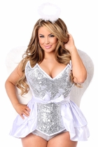 Daisy TD-972 4 PC Sequin Innocent Angel Corset Costume