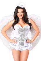 Daisy TD-983 5 PC Innocent Angel Costume
