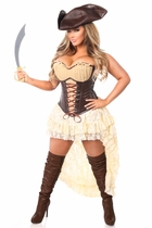 Daisy TD-984 4 PC Pirate Captain Costume