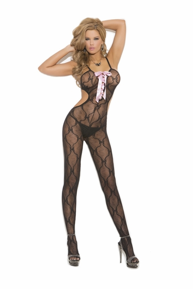 Elegant Moments 1662 Lacy Bodystocking