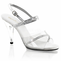 Pleaser Caress439 Sling Back Sandal