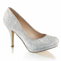 Pleaser Covet-02 Rhinestone Platform Pump