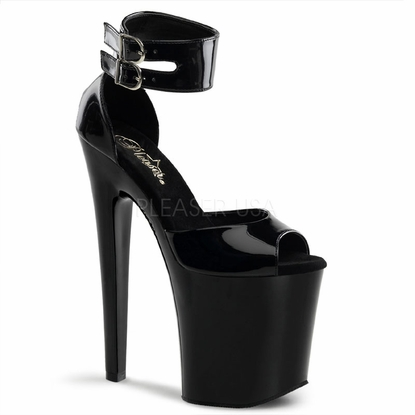 Pleaser Xtreme-875 Double Ankle Strap Sandal