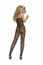 Elegant Moments 1610 Rose Lace Bodystocking