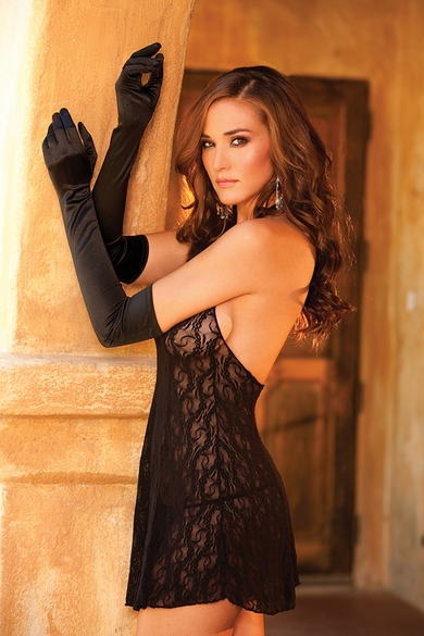 Elegant Moments 1600 Stretch Lace Gloves