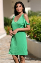 Ujena Around Town Green Dress
