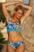 Ujena Tropic Fever Action Bikini Swim Suit