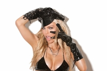 Elegant Moments V9421 Lace Up Vinyl Gloves