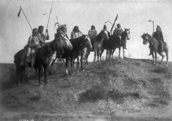 Apsaroke on Horseback