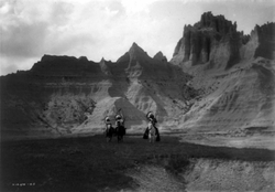 Bad Lands, Sioux
