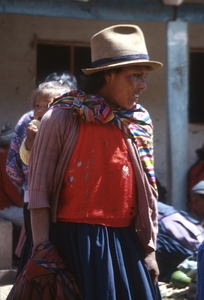Chinchero Mother and Child