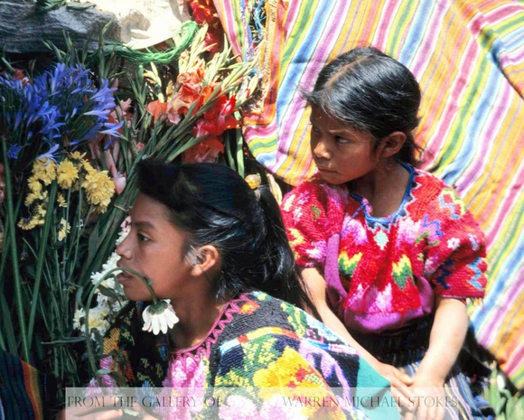 Flower Market Girls