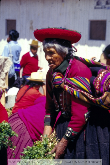 Inca Vegetable Market