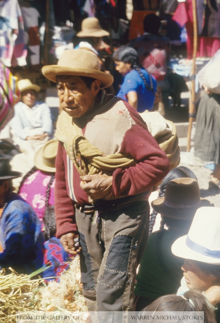 Incan Man Shopping