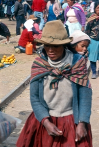 Incan Woman and Child